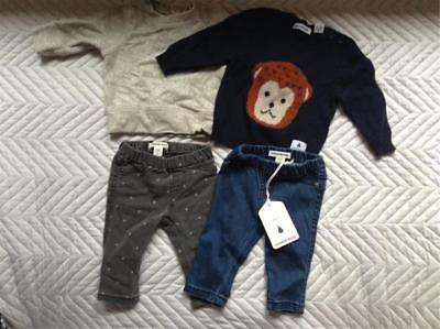 Country Road Baby Clothing Newborn 000 Sweater Jeggings bundle lots 0-3months