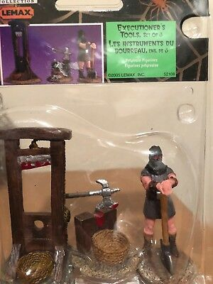 Lemax Spooky Town Executioner's Tools #52108 Retired