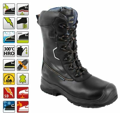 Portwest Compositelite Traction 10 Waterproof Safety Boot Leather Work Shoe FD01