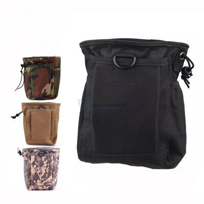 Military Molle Tactical Magazine DUMP Ammo Drop Utility Pouch Bag for Hunting US