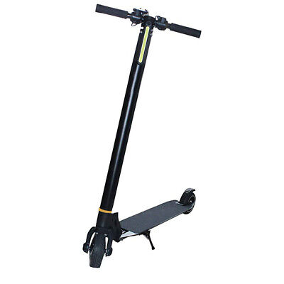 6.5 inch Electric Scooter Portable Foldable Commuter Bike Black 350W 8800mAh