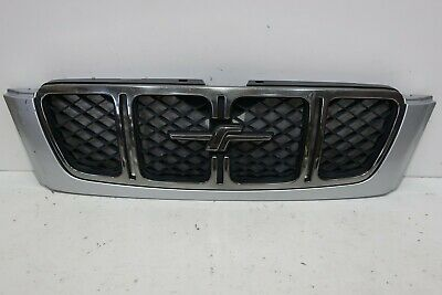 JDM 99 02 Subaru Forester SF5 555 Front Grill Grille Mask BLACK Chrome OEM