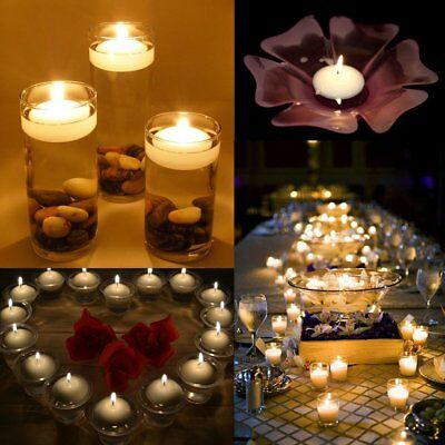 Water Floating Candles Tea Light Wedding Party Home Holiday Decor Floater Candle