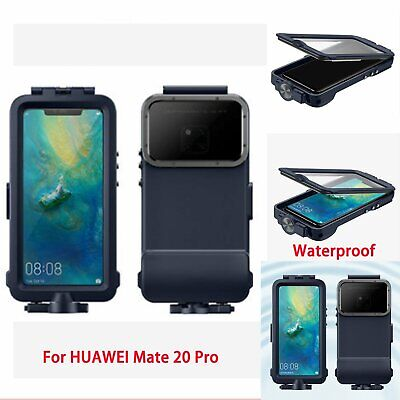 For HUAWEI Mate 20 Pro Official Underwater Waterproof Swimming Diving Cam Case