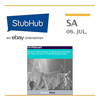 Sting Tickets - Halle