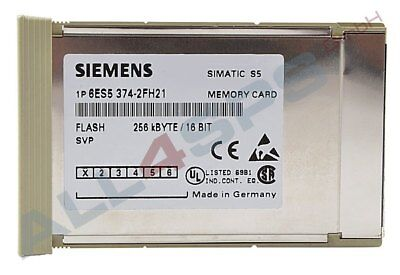 Simatic S5, Memory Card Lange Bauform Flash, 6Es5374-2Fh21
