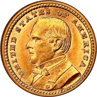 1903 Louisiana Purchase / McKinley Gold Dollar - PCGS MS 64 - Mint State 64