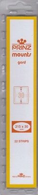 Prinz/Scott Clear Stamp Mount Strips 215x30mm US 19th Century Issues Pack Of 22