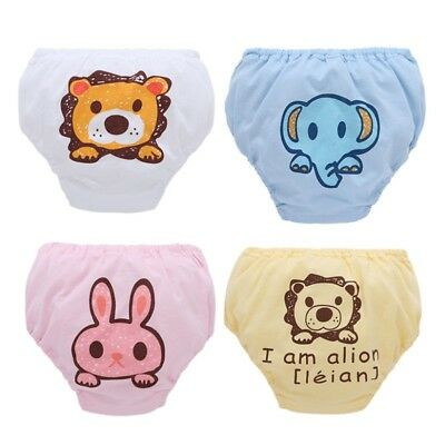 Infant Baby Girls Boys Cute Potty Training Pants Underwear Toddler knickers UK