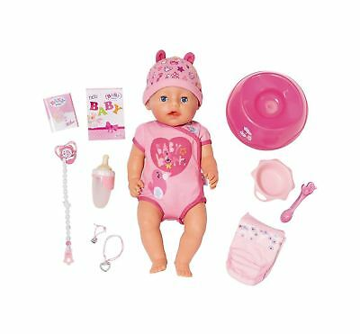 Baby Born Soft Touch Girl Doll With Blue Eyes