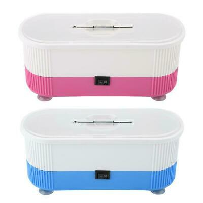 Ultrasonic Jewelry Cleaner Denture Eye Glasses Coins Rings Cleaning Machine New