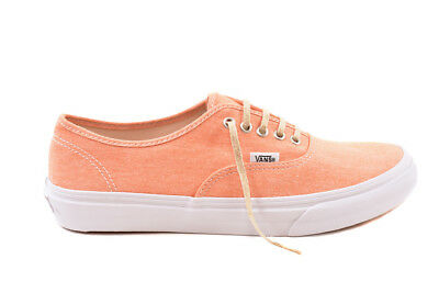 VANS Women's Authentic Slim Shoes Chambray Coral UK 4 RRP 48£ BCF81
