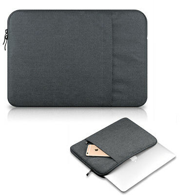 """Soft Laptop Sleeve Case Carry Bag Pouch For 11''13''15"""" Macbook Air Pro Notebook"""