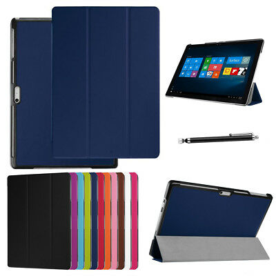 Magnetic Leather Stand Folio 360° Case Cover For Microsoft Surface 3/ Pro 4/ Go