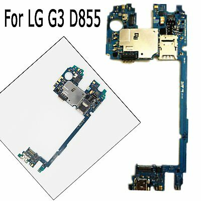 ORIGINAL MAIN MOTHERBOARD Replacement Parts for LG G3 D855
