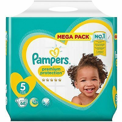 PAMPERS Premium Protection 11-16kg Taille 5 - 68 couches