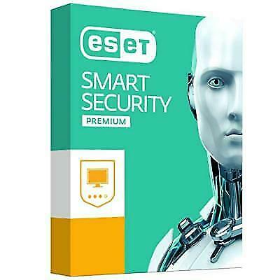 Eset Smart Security Premium 2018 | Total Protection | 2 Years | 1 Device | New
