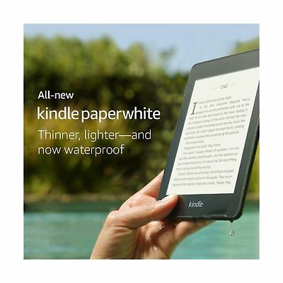 All-new Kindle Paperwhite – Now Waterproof with 2x the Storage – Includes Spe...