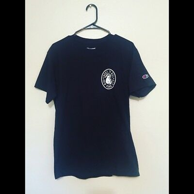 Vtg Champion Graphic Tee Sz Medium Black