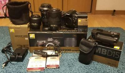 SLR Nikon D7200 genuine full set