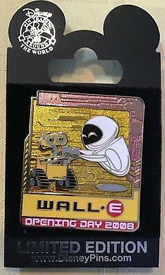 Disney WDW Cast Member Exclusive WALL-E Eve Opening Day Pin 2008 LE 1000