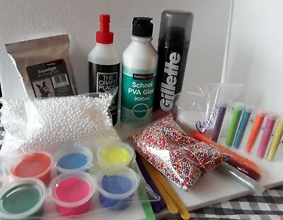 Professional Best UK  Slime Making Kit - Sent same day - 100% BORAX  TOP UP BOX