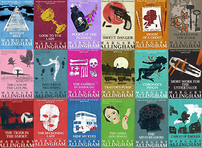 The ALBERT CAMPION Mysteries By Margery Allingham (19 MP3 Audiobook Collection)