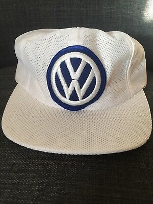 Vintage 1970s 1980s Volkswagen VW strapback Hat New Never Worn Made In USA