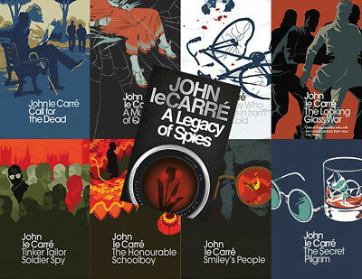 The GEORGE SMILEY Series By John Le Carre (9 MP3 Audiobook Collection)