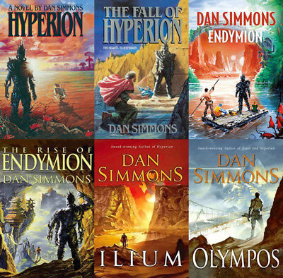 The HYPERION And ILIUM Series By Dan Simmons (6 MP3 Audiobook Collection)