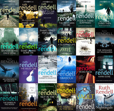 The INSPECTOR WEXFORD Mysteries By Ruth Rendell (24 MP3 Audiobook Collection)
