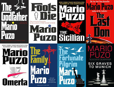 The MARIO PUZO Collection - The Godfather And More! (8 MP3 Audiobook Collection)
