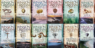 The POLDARK Series By Winston Graham (12 MP3 Audiobook Collection)