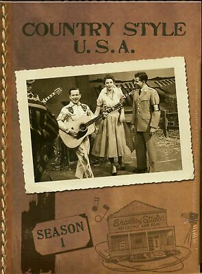 Various - Country Style USA - Season 1, (DVD) Country Style USA - Bear Family...