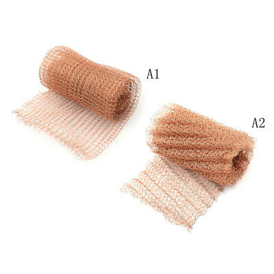 1m 100mm Width Corrugated Copper Mesh For Distillation Reflux Moonshine BrewingP