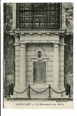 CPA-Carte postale-France-Mortcerf -Monument aux Morts-1927- S3602