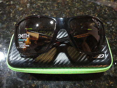 f6b5b513c6 New Smith Optics Dockside ChromaPop Havana Frame   Polar Brown Lense  Sunglasses