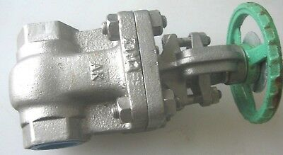 "KITZ 1-150 CF8M 1"" Stainless Steel Gate Valve REDUCED"