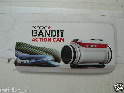 O240 Brochure Tomtom Bandit Action Camera 2015/2016 Dutch 12 Pages Folded