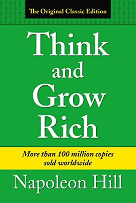 Hill Napoleon-Think & Grow Rich BOOK NUOVO