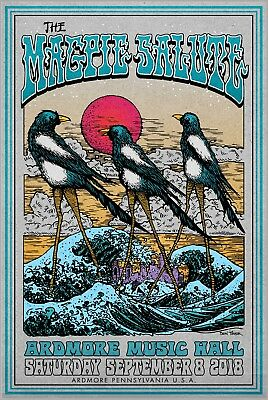 The Magpie Salute Concert Poster