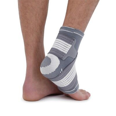 Ankle Support Compression Elastic Bandage Arthritis Socks Running Brace Football