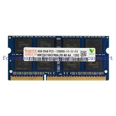 Hynix 4GB DDR3 1600MHz PC3-12800 PC312800S 2RX8 204pin Sodimm Laptop Memory RAM