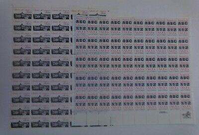 Lot 2 20c Mint Sheets Of 50 Library Of Congress #2004, America's Libraries #2015