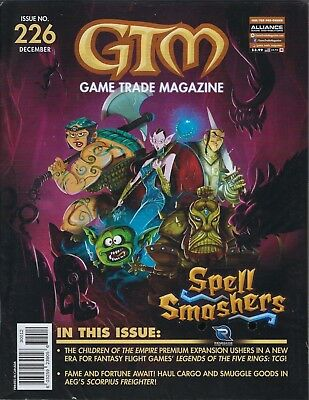 Game Trade Magazine # 226 (SPELL SMASHERS.. DEC 2018) NM NEW SEALED