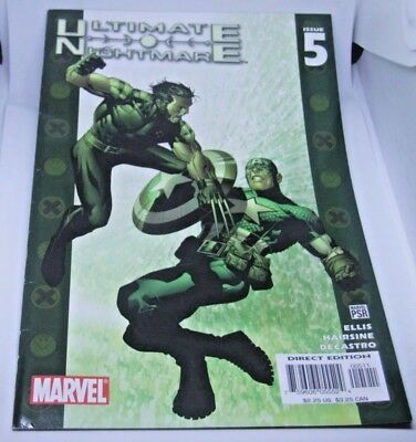 Marvel Comics Ultimate Nightmare #5 Feb 2005