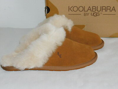 8f9cf8192c7 New Defect Womens Size 7 Chestnut Koolaburra By Ugg Milo Scuff Slippers  Slides