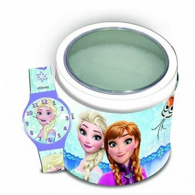 Orologio Analogico Disney FROZEN con cofanetto in latta