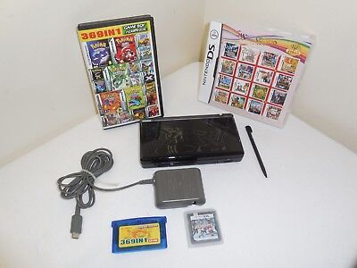 Nintendo DS Lite 577 GAMES + Pokémon System + Charger BUNDLE Gaming Set MEGA LOT