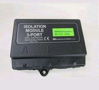Fisher Snow Plow 3 Port Isolation Module 29070-1